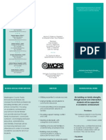 social worker brochure