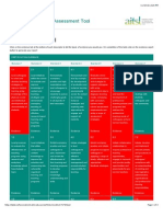 evidence for lead  self-assessment tool