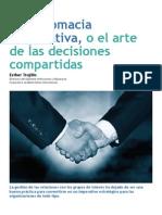 La Diplomacia Corporativa, o el arte de las decisiones compartidas