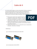 Informe Cable Db9