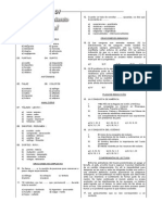 Academia Formato 2001 - II Simulacro (01) 05-04-2001