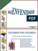 Viajemos Por Colombia Esquematizado