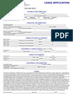 Rf Equipment Leasing Lease Application