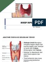 Askep Hipo Dan Hiper Tiroid Sil