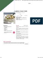 Agneau du sud (sans gluten, ni œuf, ni lait) - une recette Entre amis - Cuisine