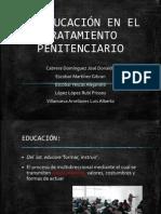 LA EDUCACIÓN EN EL TRATAMIENTO PENITENCIARIO
