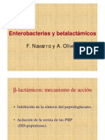 Enterobacterias y Beta Lactamicos
