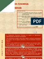 Explor Ac i on Funcional Pulmon Ar