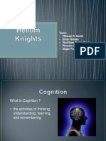 Cognitive Walkthroughs - A presentation by Helium Knights