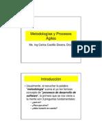 3.1 Metodologias y Procesos Agiles