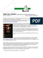 Peak Oil Theory June 2006 Web Dreams