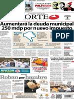 Periodico Norte de Ciudad Juarez 3 de Noviembre de 2013