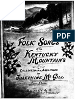 Kentucky folk songs