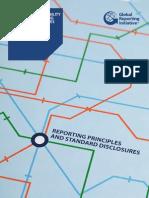Guía de Indicadores GRI (versión G4- 2013). Directrices