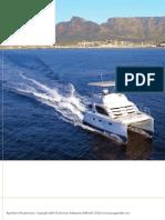 Passagemaker Magazine -- Leopard 37 Powercat Review; September 2009
