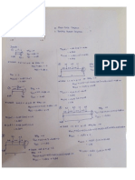 Shear force diagram and bending moment diagram