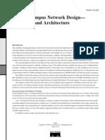 Gigabit Campus Network Design