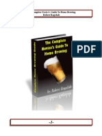 13764232 the Complete Guide to Home Brewing Making Your Own Beer at Home