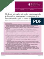 Medicina Integrativa y Terapias Complementarias y Alternativas