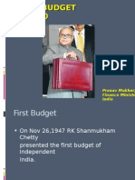 My Ppt for Budget