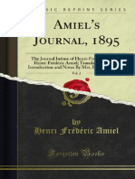 Amiel's Journal, 1895