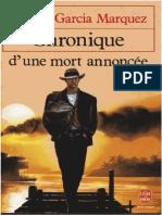 Chronique+d Une+Mort+Annoncee+ +Garcia+Marquez+Gabriel