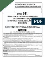 Ipea Cargo 11 Discursiva