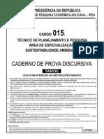 Ipea Cargo 15 Discursiva