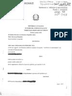 Nullo il certificato di associazione - Tribunale di Torino
