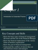 Chap001 - Corporate Finance