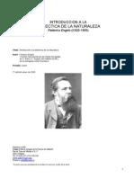 Engels Federico - Introducción a la Dialéctica de la Naturaleza