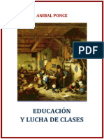 Ponce Aníbal - Educación y Lucha de Clases