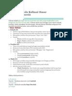 Unsur dan Pola Kalimat Dasar Bahasa.docx