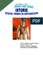 STUDIU DE CAZ STATUTUL FEMEII IN ANTICHITATE.doc