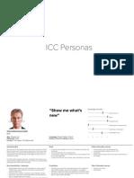 ICC Personas
