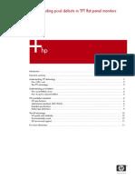 Understanding Pixel DEFECT in TFT Flat Panel Monitors