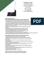 CV TS Bray 2013.pdf