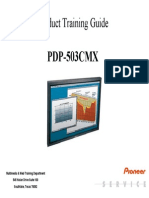 Pioneer Pdp503cmx Plasma Tv Training Manual