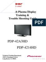 Pioneer Pfp42a3hd Plasma Tv Training Manual