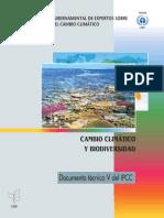 Cambio Climático y Biodiversidad-2012- Grupo Intergubernamental Expertos Cambio Climático-ONI-Informe