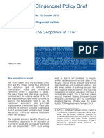 The Geopolitics of TTIP - Clingendael Policy Brief