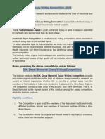 SK Desai and Essay Compition - III 2013.pdf