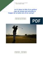Modelisation Golf PNL Master