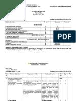 PLANIFICARE ANUAL¦é LśI CALENDARISTIC¦é - CLASA A VII-A, EDITURA HUMANITAS, AN LśCOLAR - 2013-2014.doc