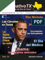 Informativo TX Septima Edicion Noviembre 2013