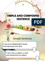 SIMPLE AND COMPOUND SENTENCE PPT.pptx