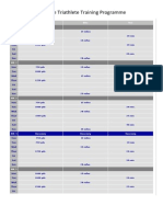 intermediate triathlete training programme