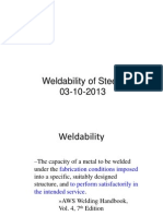 WELDABILITY of steel.ppt