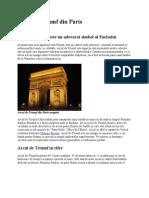 Arcul de Triumf Din Paris