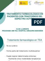 Farmacología en TEA